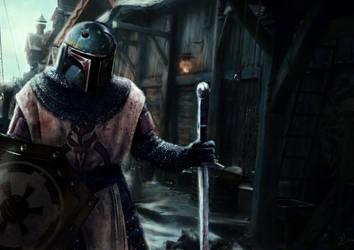 Mandalorian Knight Boba Fett by FredrikEriksson1