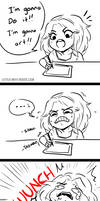 EI: Those art days by Little-Miss-Boxie