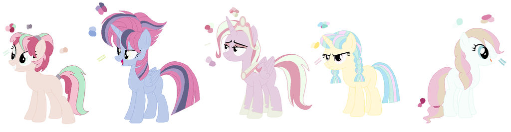adopts - Recolor pony - Open by Kanean