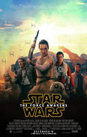 The Force Awakens Fanmade Poster by punmagneto