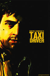 Taxi Driver Fanmade Poster by punmagneto