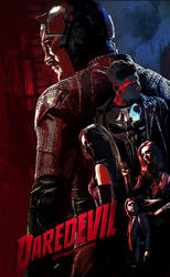 Marvel's Daredevil (season2) Fanmade Poster by punmagneto