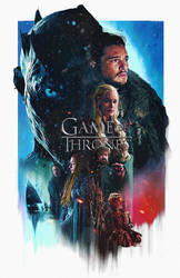 Game of Thrones season 7 Fanmade Poster by punmagneto