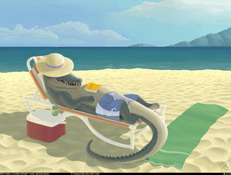 Crocos Summer Break by thazumi