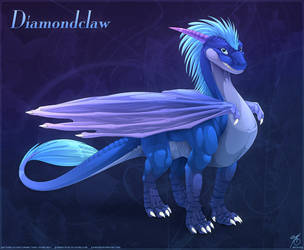 Diamondclaw Commission by thazumi