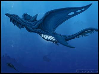 Oceandragonmonster by thazumi