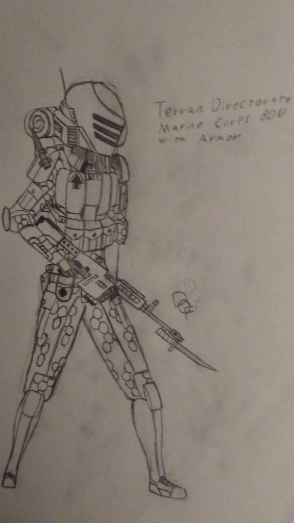 Terran Directorate Marine by lilconman22