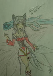Ahri (League of Legends) by lilconman22