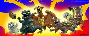 Destroy All Monsters March by DadaHyena