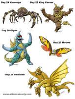 Kaiju Month Part 6 by DadaHyena