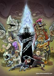 TMNT Villains by DadaHyena
