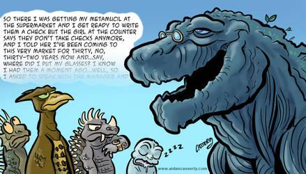 Grampzilla: Monster Planet by DadaHyena