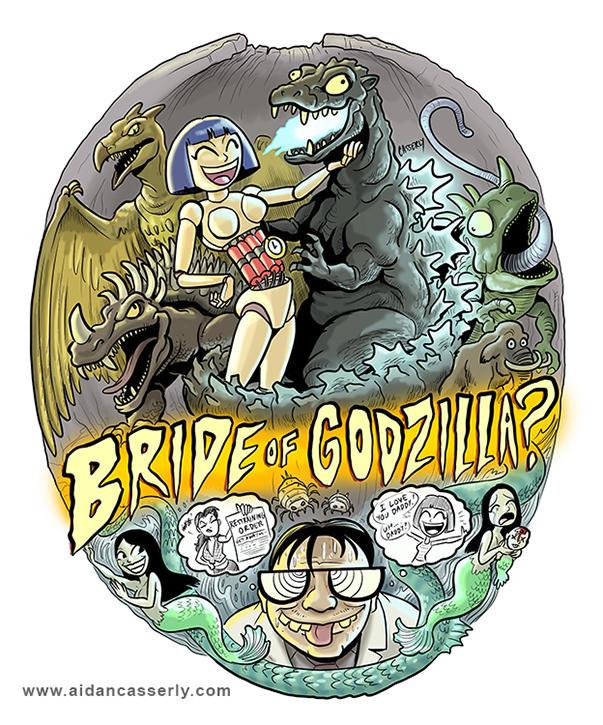 Bride Of Godzilla by DadaHyena