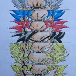 Son Goku by Iamfahimislam