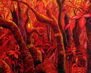 Red Jungle by wiewiorka