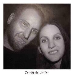 Sketch of Craig and Jade by tas-poetry