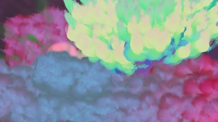 Celestial Luminescent Birth by fureon