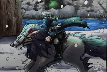 Journey Across the Frozen World by Dobermutt