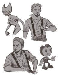 BATIM Sketches by Dobermutt