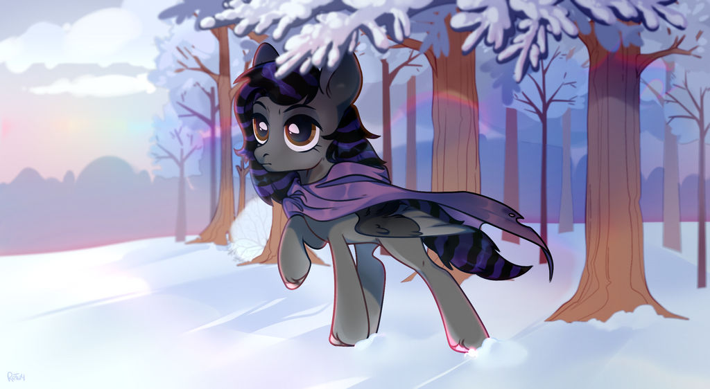 YCH: Cold rainbow evening by retich