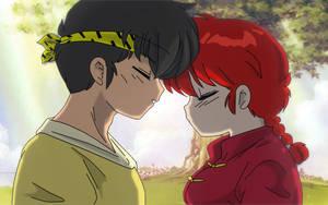Ryoga and Ranma Female by Hainfinkle