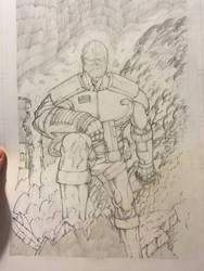 Deathlok commission by PixelArtist95