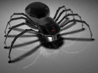 Black Spider by ELECTROfanatic