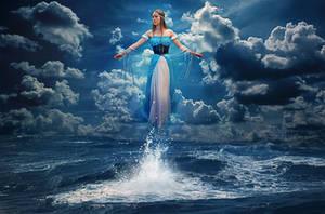 Water Maiden by Miztliyuma