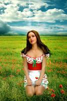 Strawberry Field by Miztliyuma