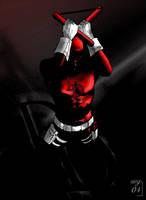 Daredevil Coloured by dullboyjack