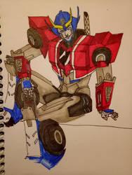 Primestrong sketch by sasukenekosama