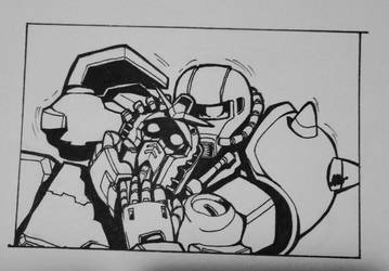 A gundam thing by sasukenekosama