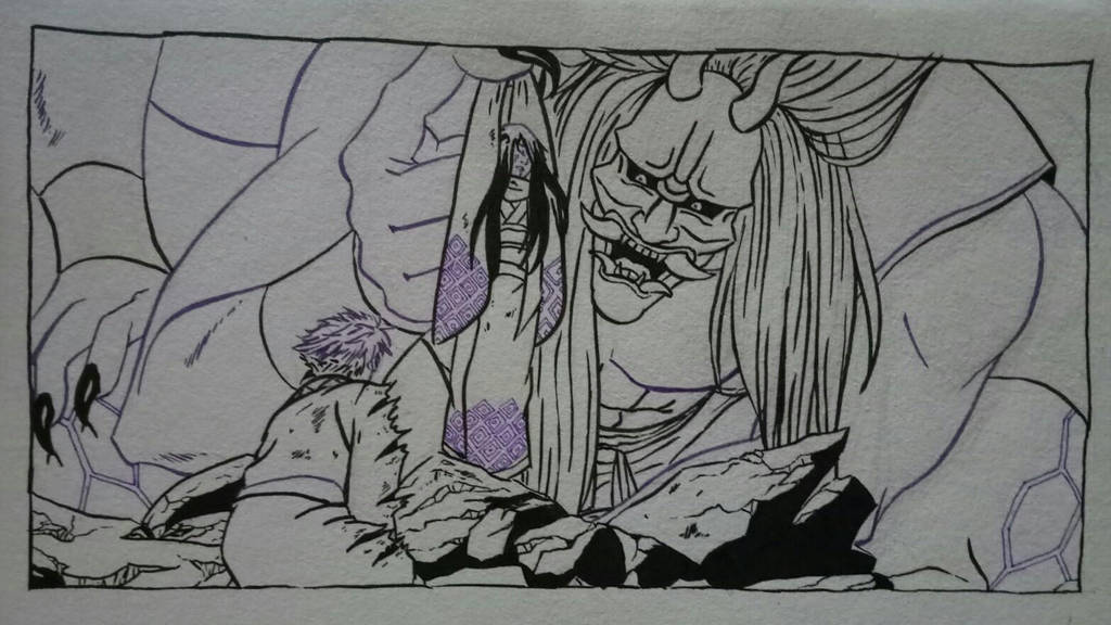 Nurarihyon no mago lineart by sasukenekosama