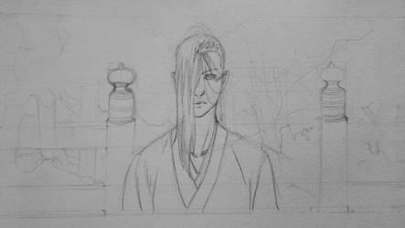 Umewakamaru sketch by sasukenekosama