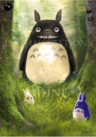 My neighbor Totoro by Mihne-Art