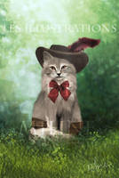 Chat Botte - Puss in Boots by Mihne-Art