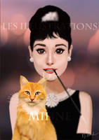 Audrey Hepburn by Mihne-Art
