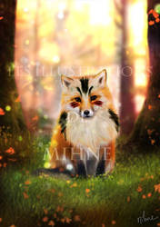 Fox Demon by Mihne-Art