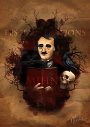 Edgar Allan Poe by Mihne-Art