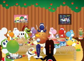 Yoshi's Thanksgiving by Humdeedum233