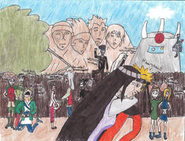 Naruto's Return by COLAD-art-gallery