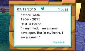 A Sad Bulletin Post by pgj1997