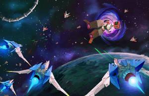 Starfox Zero : Fight for Corneria! by Chillustration