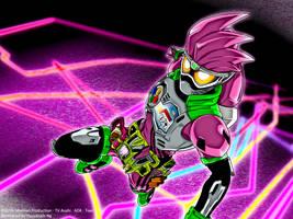 [Artwork] Kamen Rider Ex-Aid Action Gamer Lv.2 by Yuuyatails