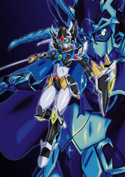 [Artwork] Valkyrie Gundam Hazel by Yuuyatails