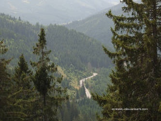 Mountain Road by eMBeeL