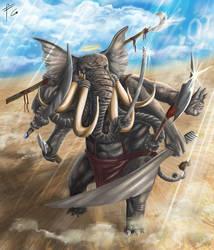 Ganesh Final by verdilaksBreeding