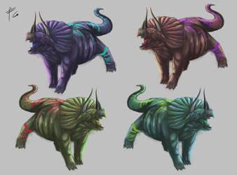 Triceratops Varies by verdilaksBreeding