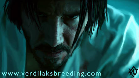 Keanu reeves john wick alias demi-god by verdilaksBreeding
