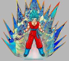 Goku God Mode by ARTmageddon